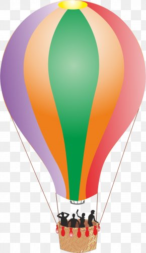 Air Balloon - Flight Hot Air Balloon Aviation Aircraft Airplane PNG