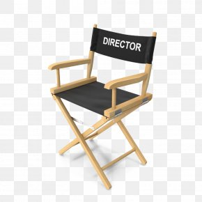 The Director Marked Directors Chair - Directors Chair Film Director PNG