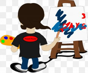 Painting - Painting Painter Artist Clip Art PNG