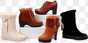Winter Shoes - Snow Boot Shoe Sales Promotion Advertising PNG