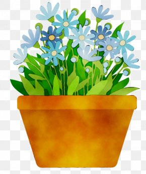 Clip Art Flowerpot Flowering Pot Plants Openclipart PNG