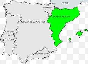 Kingdom Of Aragon - Kingdom Of Aragon Crown Of Aragon Kingdom Of Castile Kingdom Of Navarre PNG