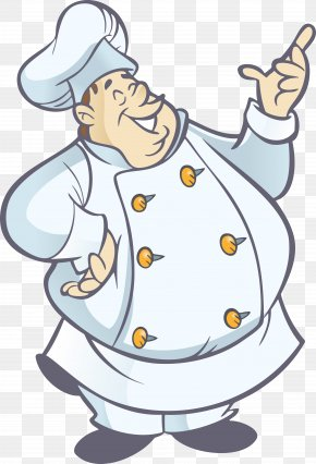 Cooking - Pizza Chef Cooking Clip Art PNG