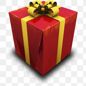 Present - Box Table Gift PNG