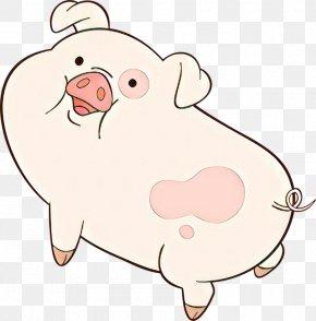 Fawn Livestock - Domestic Pig Cartoon Nose Snout Pink PNG