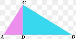 Free Creative Triangle Buckle - Triangle Euclid's Elements Pythagorean Theorem Mathematical Proof PNG