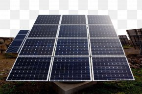 Sunshine Under The Photovoltaic Panels - Solar Panel Photovoltaics Solar Energy Solar Power Solar Cell PNG