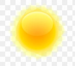 Sun - Yellow Circle Wallpaper PNG