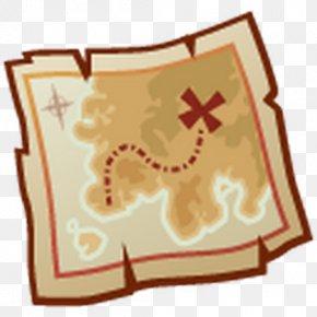Map - Treasure Map Clip Art PNG