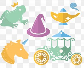 Vector Hand-drawn Cartoon Fairy Tale - The Frog Prince Fairy Tale Download PNG