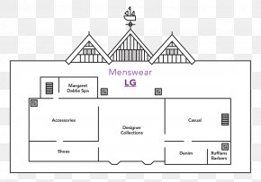 French Fashion Designers Streetwear - Liberty Regent Street Map Floor Plan Department Store PNG
