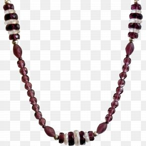 Necklace - Rudraksha Necklace Gemstone Jewellery Chain PNG