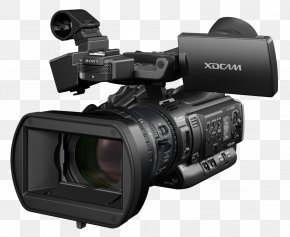 Video Camera Image - Sony XDCAM Video Camera High-definition Video PNG