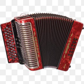 Accordion Clipart - Hohner Diatonic Button Accordion Musical Instrument PNG