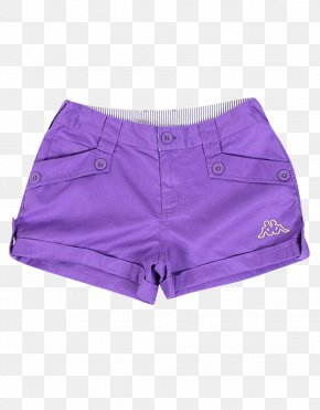 Purple Girls Shorts - Purple Trunks Shorts PNG