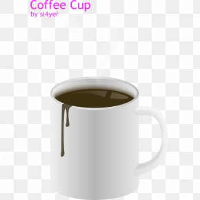 Pictures Of Hot Coffee - Coffee Cup Hot Chocolate Cafe Mug PNG