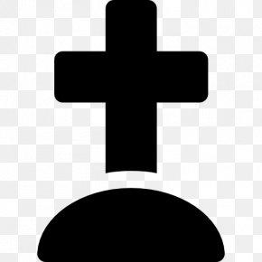Cemetery - Cross Cemetery Headstone PNG