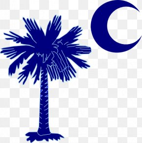Crescent Moon Clipart - Flag Of South Carolina Sabal Palm Arecaceae Clip Art PNG