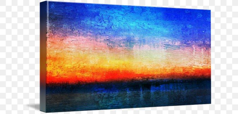 Painting Modern Art Display Device Desktop Wallpaper