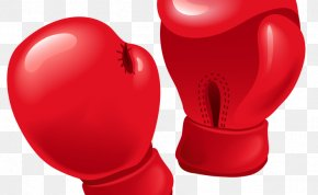 Boxing Gloves Woman - Boxing Glove Punch Clip Art PNG