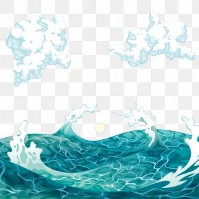 Vector Rough - Sea Wind Wave Euclidean Vector PNG