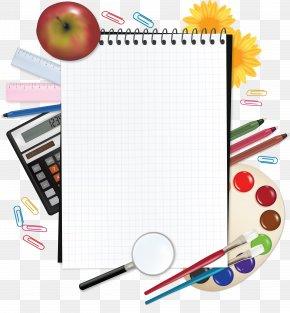 Notebook,Palette - Paper Notebook School Supplies PNG