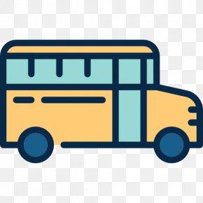 School Bus - School Bus Transport Icon PNG