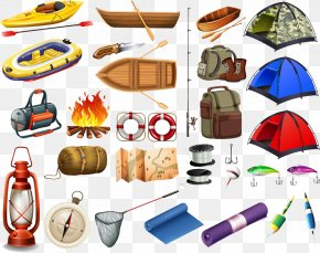 Camping Tools - Camping Tent Outdoor Recreation Clip Art PNG