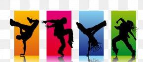 Silhouette - Hip-hop Dance Clip Art Street Dance Image PNG