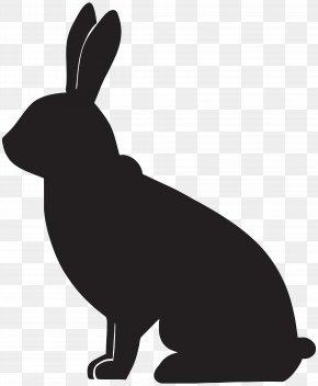 Rabbit Silhouette Clip Art Image - Rabbit Silhouette Clip Art PNG
