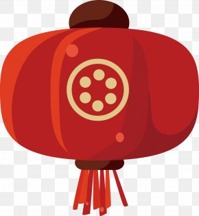 Chinese New Year Lantern Vector Material - Chinese New Year Lantern Clip Art PNG