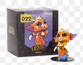 League Of Legends Gnar - League Of Legends Action & Toy Figures Riot Games Video Game PNG