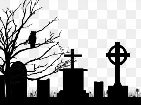 Cemetery Free Download - Cemetery Grave Clip Art PNG