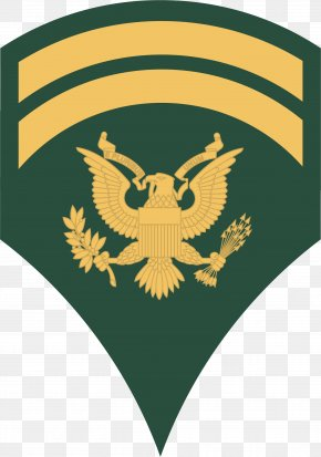 Army - Specialist United States Army Military Rank Non-commissioned Officer PNG
