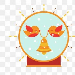 Christmas Crystal Ball Vector - Christmas Crystal Ball Clip Art PNG