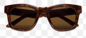 Sunglasses - Goggles Sunglasses Brown Caramel Color PNG