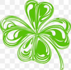 Shamrock Divider Cliparts - Ireland Shamrock Four-leaf Clover Saint Patricks Day Clip Art PNG
