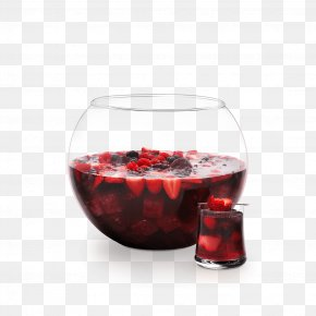 Cranberry Red - Tinto De Verano Red Wine Wine Cocktail Wine Glass PNG
