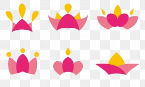 Cute Pink Crown - Crown Cartoon Designer PNG