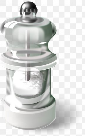 Glass Bottles - Salt And Pepper Shakers Salt Cellar Clip Art PNG