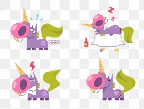 Happy Hippo Animated Emoticons - Hippopotamus Animation Illustration PNG