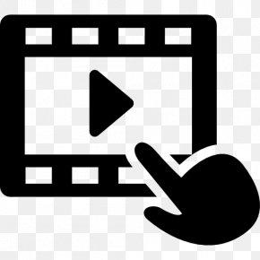 Blackandwhite Symbol - Online Video Platform Transparency Media Player Software Television Show PNG