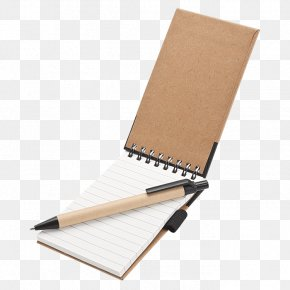 Pen And Paper - Paper Notebook Ballpoint Pen Jotter PNG