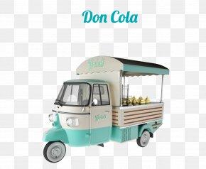 Ice Cream Gelato Carts JTB Distributors Street Food Piaggio ApeIce Cream - TeknèItalia PNG