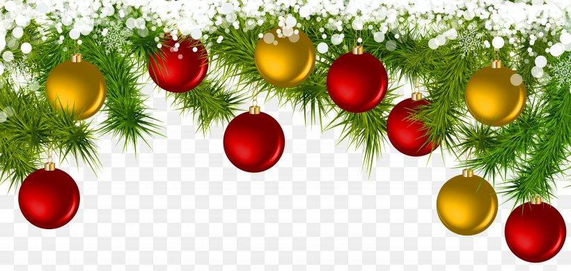 Christmas Ornament Clip Art, PNG, 6000x2851px, Christmas, Ball, Branch, Christmas And Holiday Season, Christmas Decoration Download Free