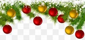 Deco Christmas Balls Clip Art - Christmas Ornament Clip Art PNG