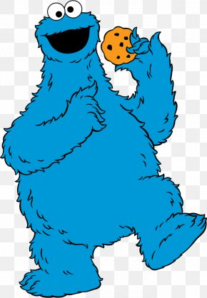 Monster Eating Cliparts - Cookie Monster Elmo Big Bird Count Von Count Ernie PNG