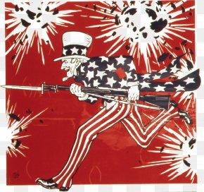 Uncle - United States Uncle Sam First World War Birthday Poster PNG