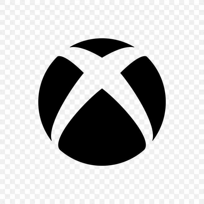 Black Xbox 360 Xbox One Logo Png 2048x2048px Black Black And