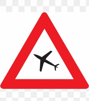 Airplane - Airplane Aircraft Traffic Sign Flight PNG